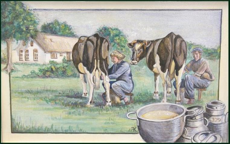 het boerenleven in 1960