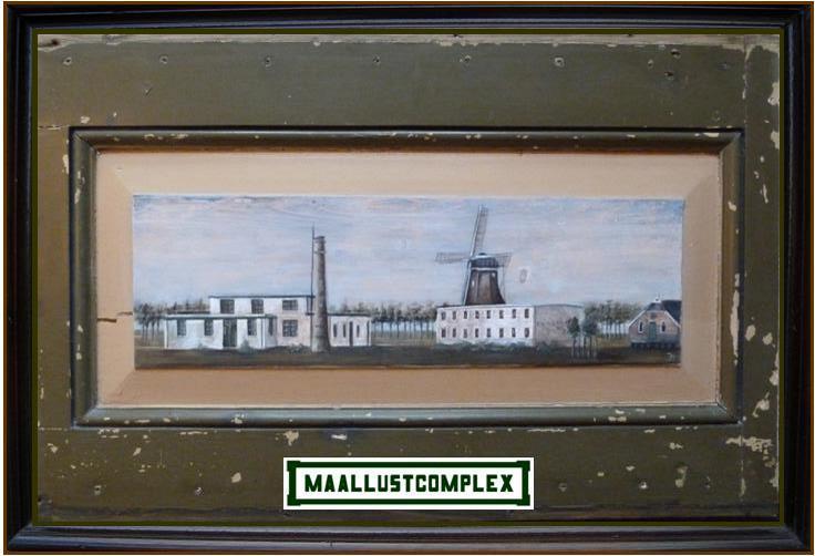maallustcomplex met melkfabriek