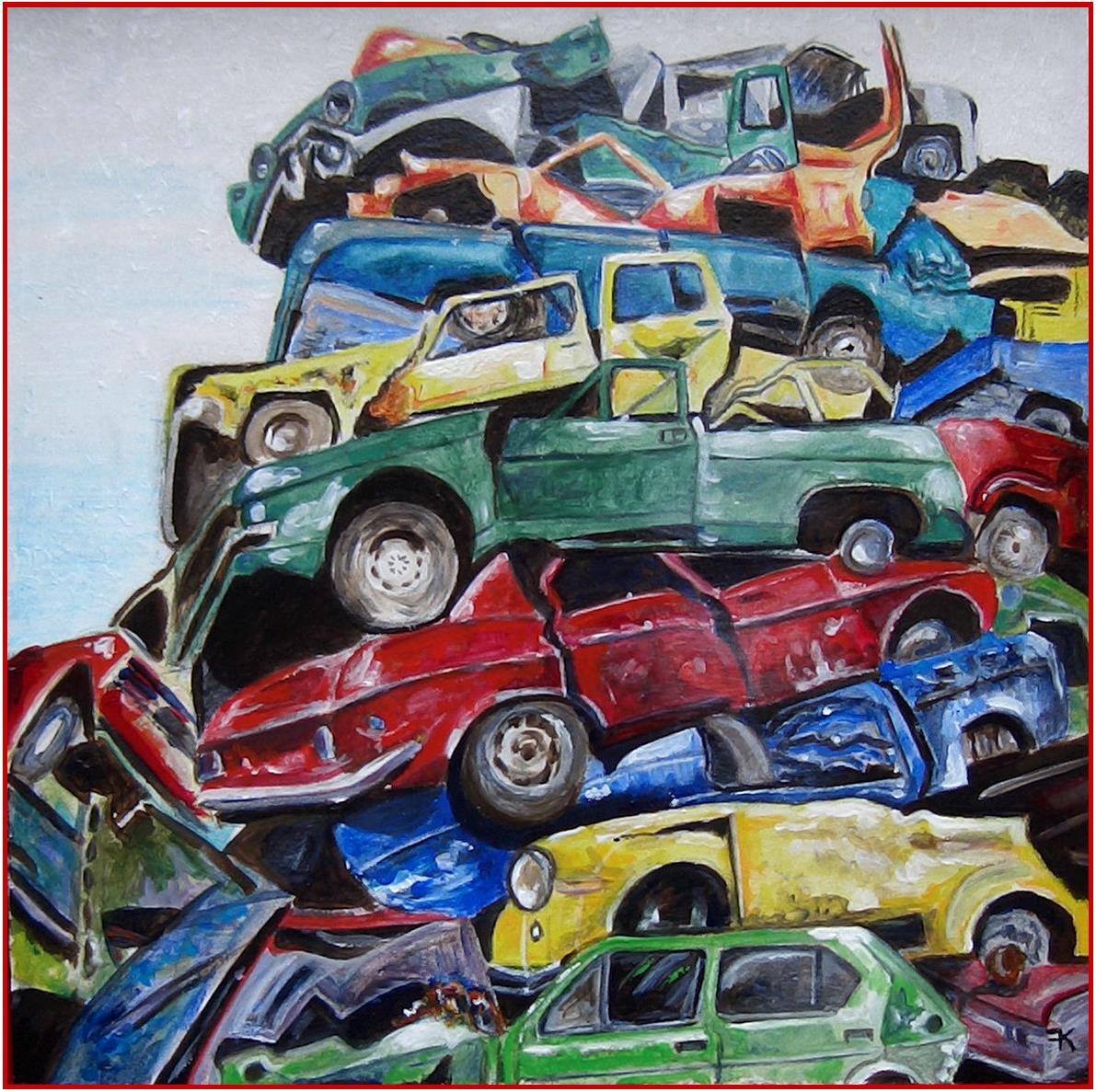 autowrakken